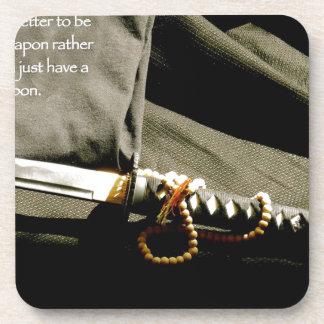 Dessous-de-verre Il vaut mieux d'être une arme plutôt qu'ayez juste