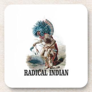 Dessous-de-verre Indien radical