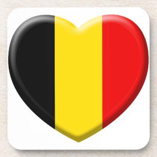 Dessous-de-verre j'aime la Belgique