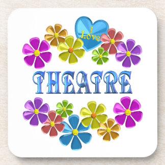 Dessous-de-verre J'aime le théâtre