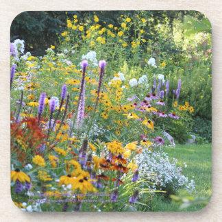 Dessous-de-verre Jardins colorés le long des voies