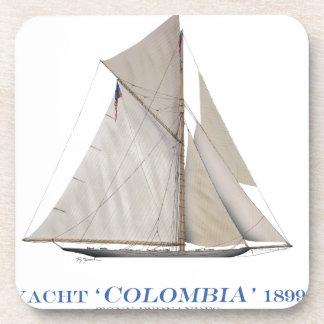 Dessous-de-verre La Colombie 1899