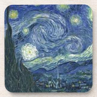 Dessous-de-verre La Nuit Etoilée de Van Gogh (The Starry Night)