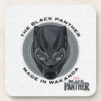Dessous-de-verre La panthère noire | a fait dans Wakanda