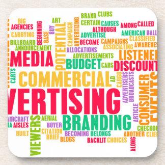 Dessous-de-verre La publicité en ligne et dans la méthode