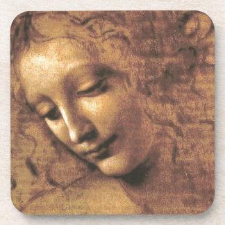 Dessous-de-verre La Scapigliata par Leonardo da Vinci