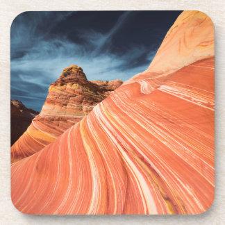 Dessous-de-verre La vague, falaises vermillonnes, Arizona