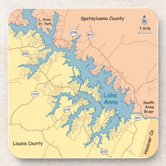 Dessous-de-verre Lac Anna, VA