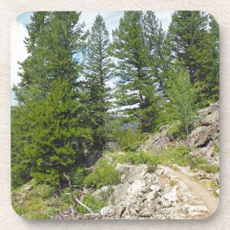 Dessous-de-verre lac de monarque près de Granby le Colorado