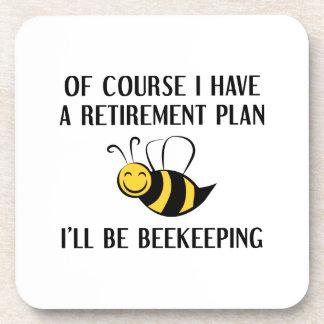 Dessous-de-verre L'apiculture de régime de retraite