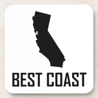 Dessous-de-verre Le meilleur noir de la Californie de côte ouest