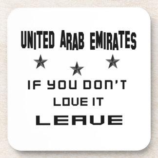 Dessous-de-verre Les Emirats Arabes Unis si vous ne l'aimez pas,