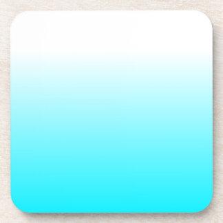 Dessous-de-verre Les femmes autoguident le bleu frais à la mode