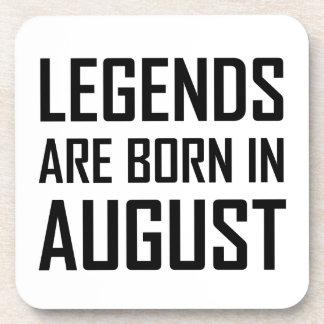 Dessous-de-verre Les légendes sont nées en août
