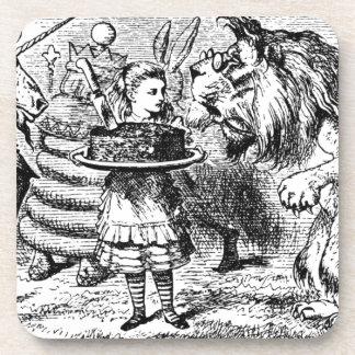 Dessous-de-verre Licorne et lion