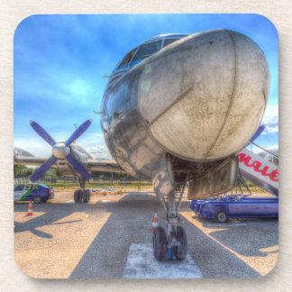 Dessous-de-verre Lignes aériennes hongroises Ilyushin IL-18 de