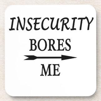 Dessous-de-verre L'insécurité m'ennuie