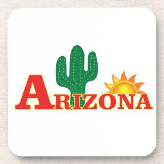 Dessous-de-verre Logo de l'Arizona simple