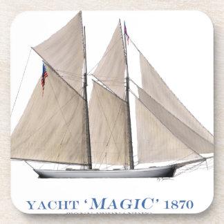 Dessous-de-verre Magie 1870