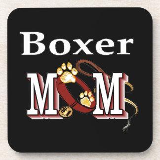 Dessous-de-verre Maman de boxeur