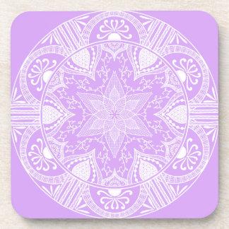 Dessous-de-verre Mandala de lavande