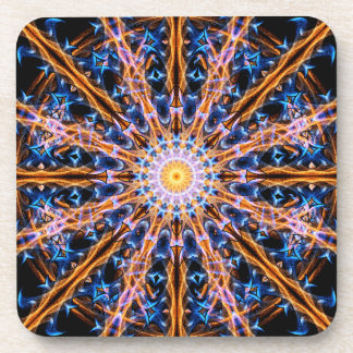 Dessous-de-verre Mandala d'étoile d'alchimie