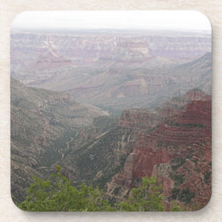 Dessous-de-verre Matin brumeux de canyon grand, Arizona