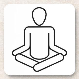 Dessous-de-verre Méditation-logo