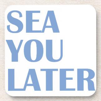 Dessous-de-verre Mer vous plus tard