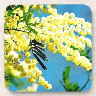Dessous-de-verre Mimosa de France