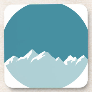 Dessous-de-verre montagne