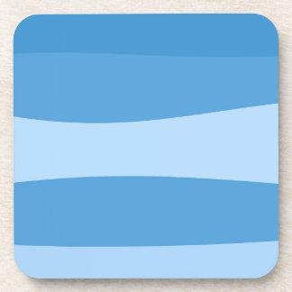 Dessous-de-verre Motif abstrait - bleu