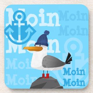 """Dessous-de-verre Mouette de """"Moin Moin"""""""