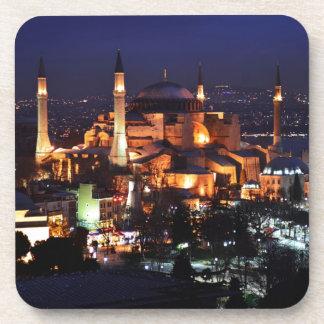 Dessous-de-verre Nuit de Hagia Sophia