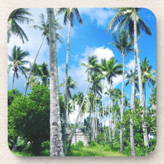 Dessous-de-verre Paradis dans le Pacifique