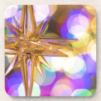Dessous-de-verre Parties scintillantes d'étoile