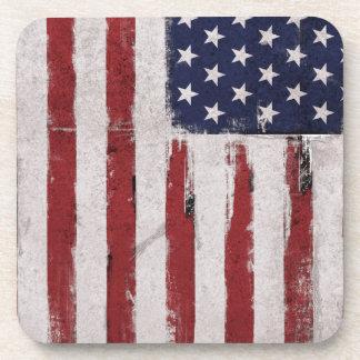 Dessous-de-verre Patriote de cru de drapeau américain