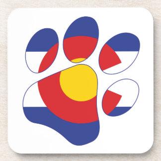 Dessous-de-verre Pattes du Colorado
