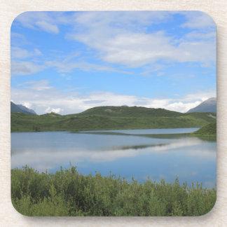Dessous-de-verre Paysage de l'Alaska