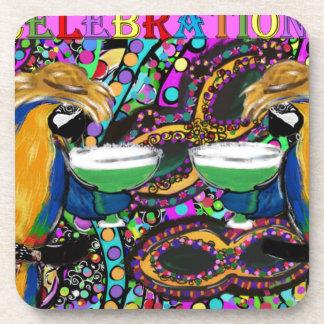 Dessous-de-verre Perroquets de mardi gras