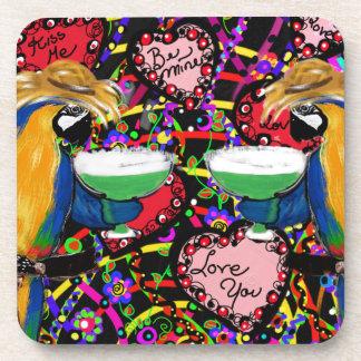 Dessous-de-verre Perroquets de Valentine
