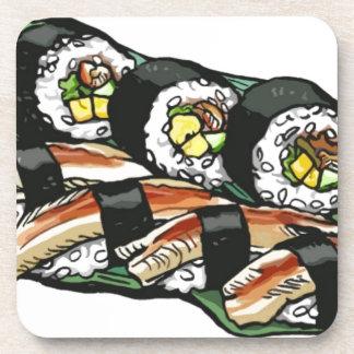 Dessous-de-verre Petit pain de sushi