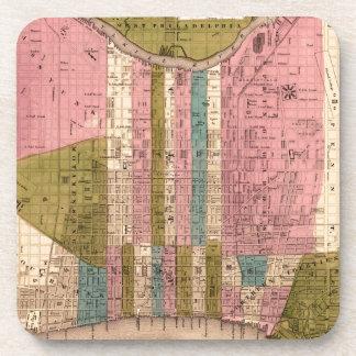 Dessous-de-verre Philadelphie 1838