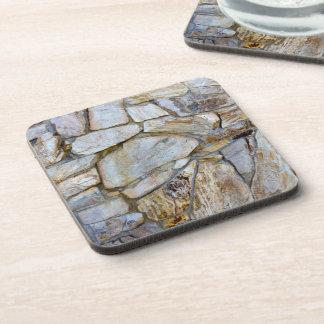 Dessous-de-verre Photo de texture de mur de roche sur des dessous