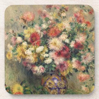 Dessous-de-verre Pierre dahlias de Renoir un |