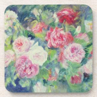 Dessous-de-verre Pierre roses 2 de Renoir un |