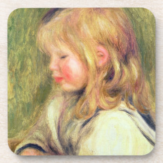 Dessous-de-verre Pierre un enfant de Renoir | dans une lecture