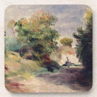 Dessous-de-verre Pierre un paysage de Renoir | près de Cagnes