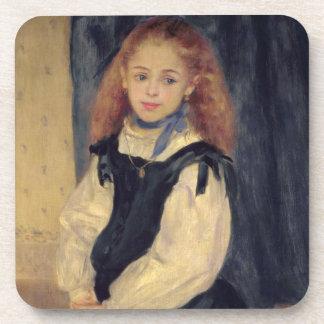 Dessous-de-verre Pierre un portrait de Renoir | de Mademoiselle