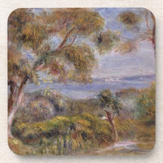 Dessous-de-verre Pierre un Renoir | la mer chez Cagnes